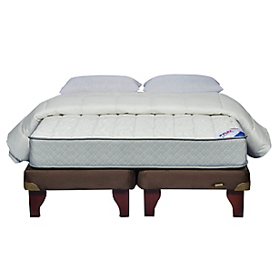 Cama Europea Therapedic King BD + Textil