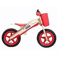 Bicicleta Aro 12 Con Mochila Roja