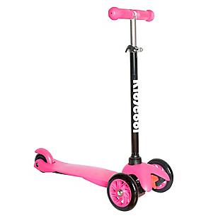 Scooter de 3 Ruedas Rosado