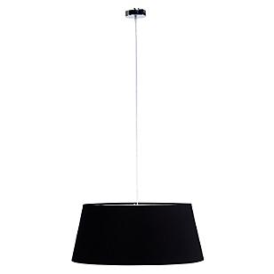 Lámpara Colgar Tela 60 x 50 x 25 cm Negro