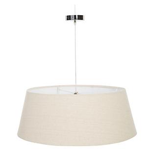 Lámpara Colgar Tela 60 x 50 x 25 cm Natural