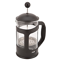 Cafetera Vidrio y Plástico Negra 800 ml