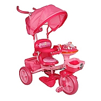 Triciclo Multietapa Rosado