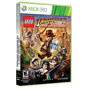 Lego Indiana Jones 2 Xbox 360