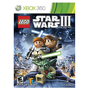 Lego Star Wars 3 Clone Wars xbox 360
