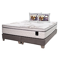 Box Spring Art 4 King + 2 Almohadas Memory Max