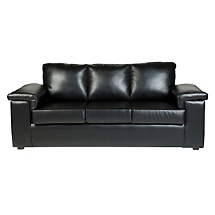 Sofá 3 Cuerpos Torino Negro