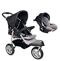 Coche Travel System Black Grey OH-01