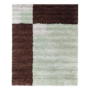 Alfombra Shaggy Alambra Verde Pistacho 66 x 110 cm
