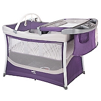 Cuna Corral Playard Illusions Purple