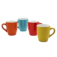 Set 4 Mugs Cerámica Color New