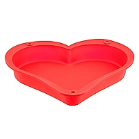 Molde de Silicona Corazón Bakery