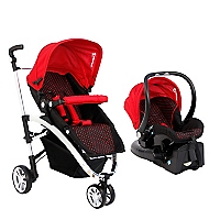 Coche Travel System Red and Black OH-05
