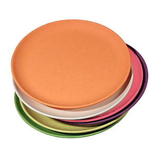 Set de 6 Platos para Torta Ecológicos
