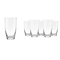 Set 6 Vasos Altos Flor