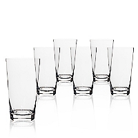 Set 6 Vasos Altos Clear