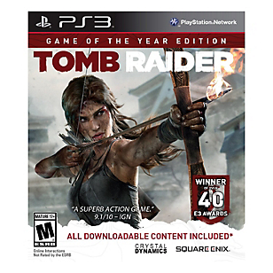 Tomb Raider Game of the Year PS3