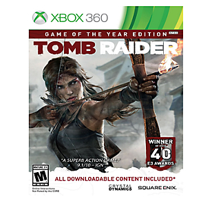 Tomb Raider Game of the Year Xbox 360