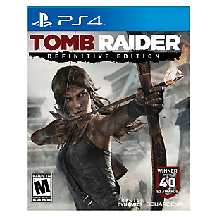 Tomb Raider The Definitive Edition PS4