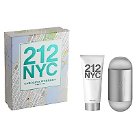 Set Perfume 212 NYC EDT 100 ML + Body Lotion 100 ML