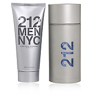 Set Perfume 212 Men EDT 100 ML + After Shave Gel 100 ML