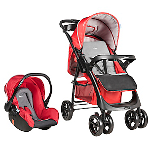 Coche Travel System Andes Mist Red