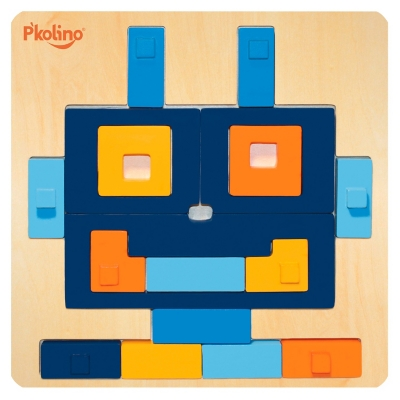 Puzle Multisolución Robot