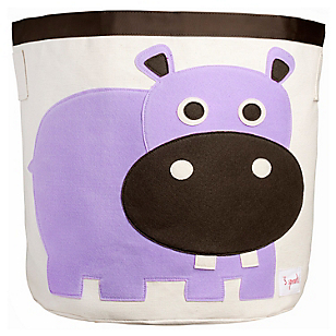 Contenedor Juguetes Hipopótamo