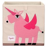 Caja para Juguetes Unicornio