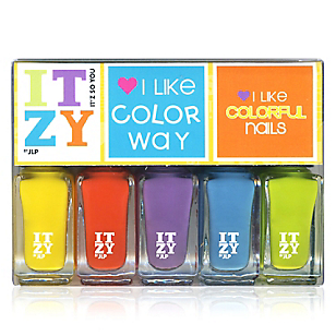 Esmaltes Colorful x 5