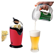 Pop corn + Dispensador de Cerveza