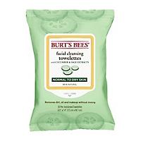 Burts Bees Toallitas Faciales con Extracto de Pepino y Salvia