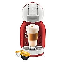 Cafetera Mini ME Blanco-Rojo