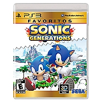 Sonic Generations Favoritos PS3