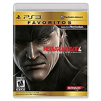 Metal Gear Solid 4 Favoritos PS3