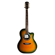 Guitarra Electroac�stica Verde