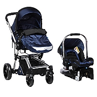 Coche Travel System Azul RS-13730