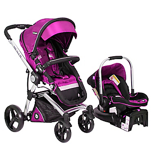Coche Travel System Rosado RS-13730