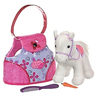 Sparkle y Shine Pony in Bag