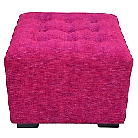 Pouf Chicago Fucsia