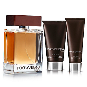 Set The one for men EDT 100 ml + After shave 100 ml + Shower gel 50 ml