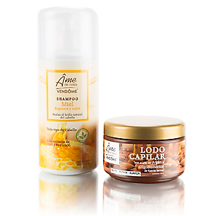 Pack Shampoo Miel + Lodo