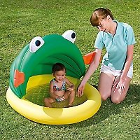 Piscina Inflable con Toldo UV