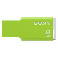 Pendrive 8GB verde