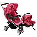 Coche Travel System Fucsia RS-1320