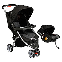Coche Travel System Negro RS-1320