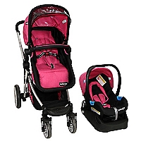 Coche Travel System Lumina Rosado 13740