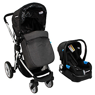 Coche Travel System Lumina Negro RS-13740