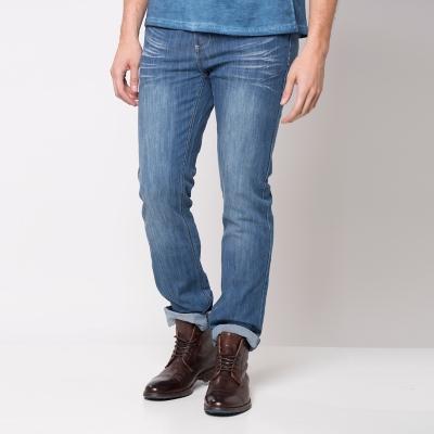 Jeans Hombre 5 Bolsillos Slim