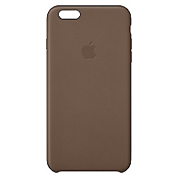 Carcasa iPhone 6 Plus cuero oliva caf�